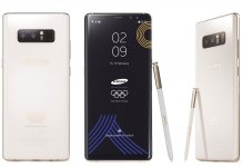 Samsung Galaxy Note8 PyeongChang 2018 Olympic Games Limited Edition