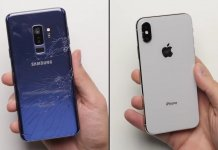 тест Samsung Galaxy S9+ vs iPhone X