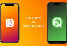 Android Q vs IOS 13